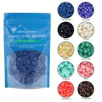 Lv. life 10 Flavors Hard Wax Beans Hot Film Depilatory Wax Bead Body Legs Hair Removal Wax 50g, Depilatory Wax, Depilatory Wax Bean