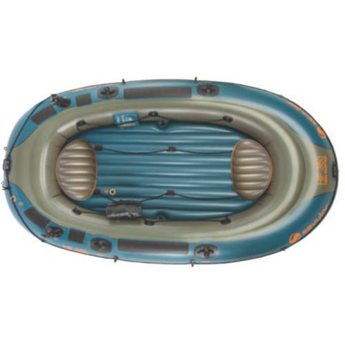 Sevylor 6-Person Fish Hunt Inflatable Boat with Berk by COLEMAN