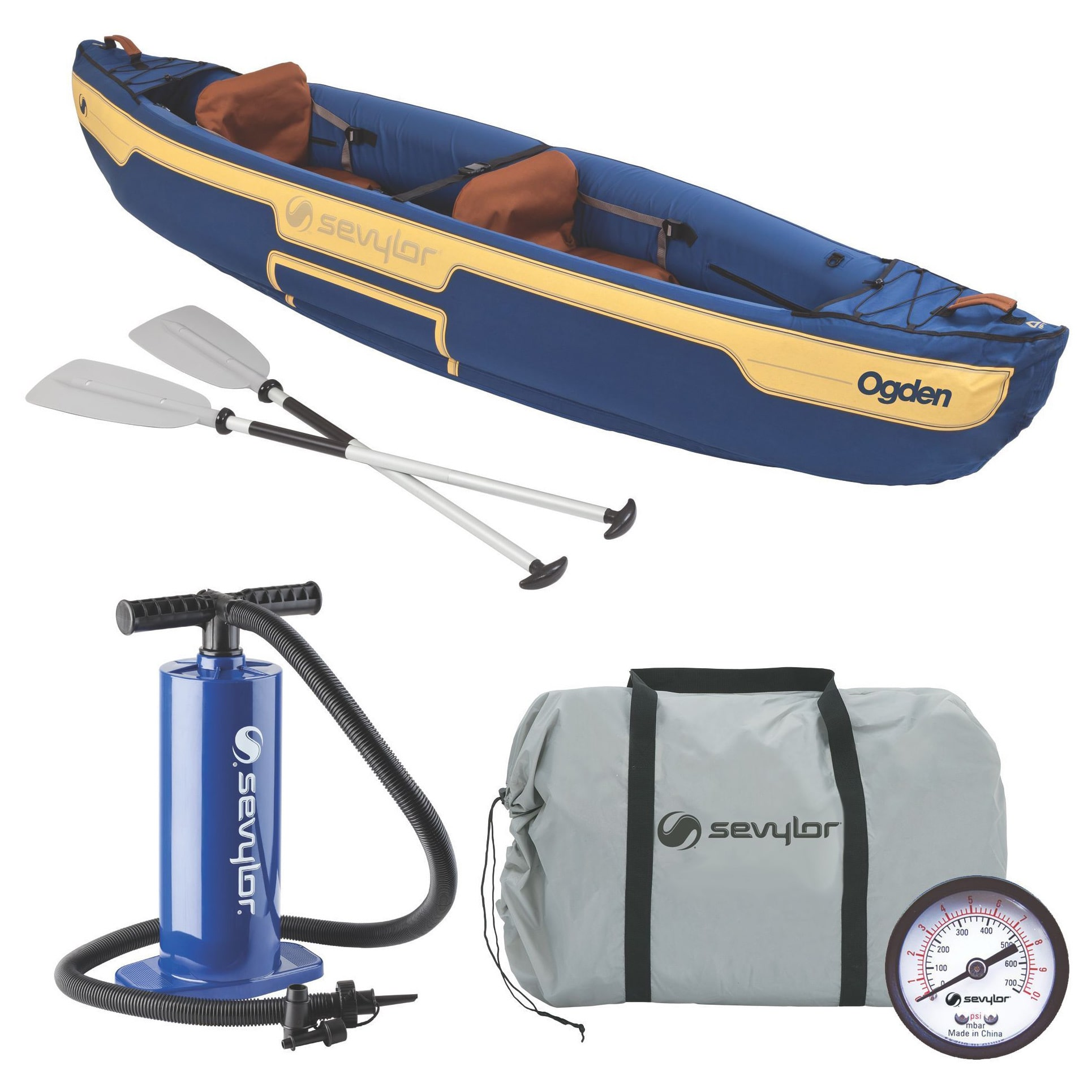 Coleman Ogden 2-Person Canoe Combo by Overstock
