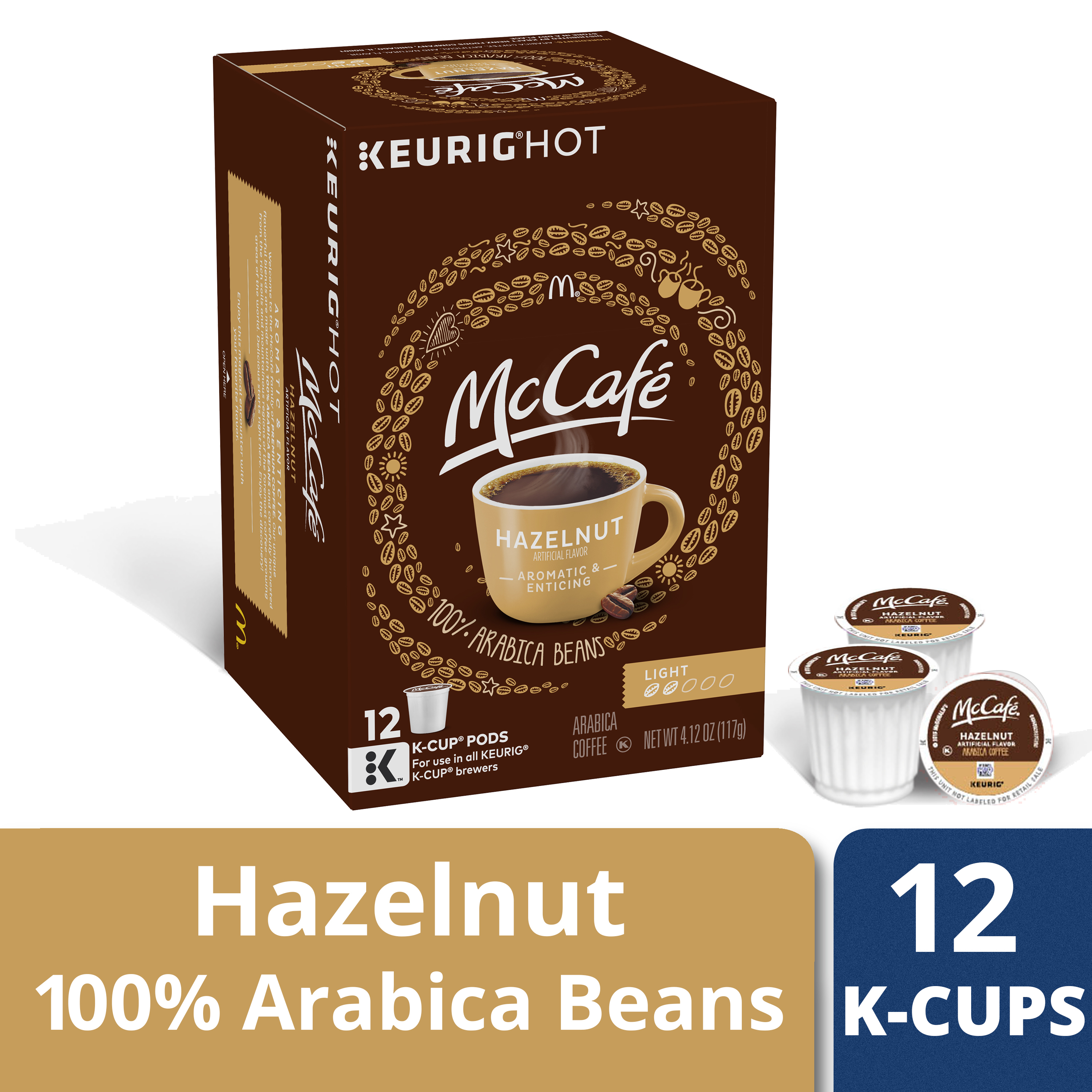 McCafe Hazelnut Coffee K-Cup Pods 12 count