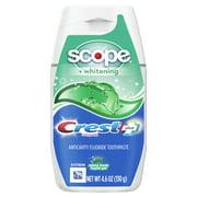 Crest Complete Whitening plus Scope Fluoride Toothpaste, Mint, 4.6 Oz