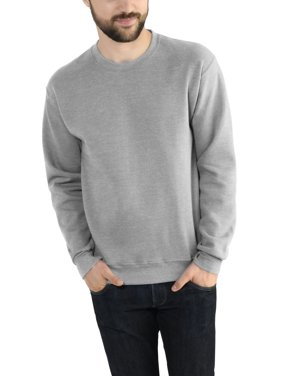 Fruit of the Loom Men's and Big Men's Eversoft Fleece Crew Sweatshirt, up to Size 4XL