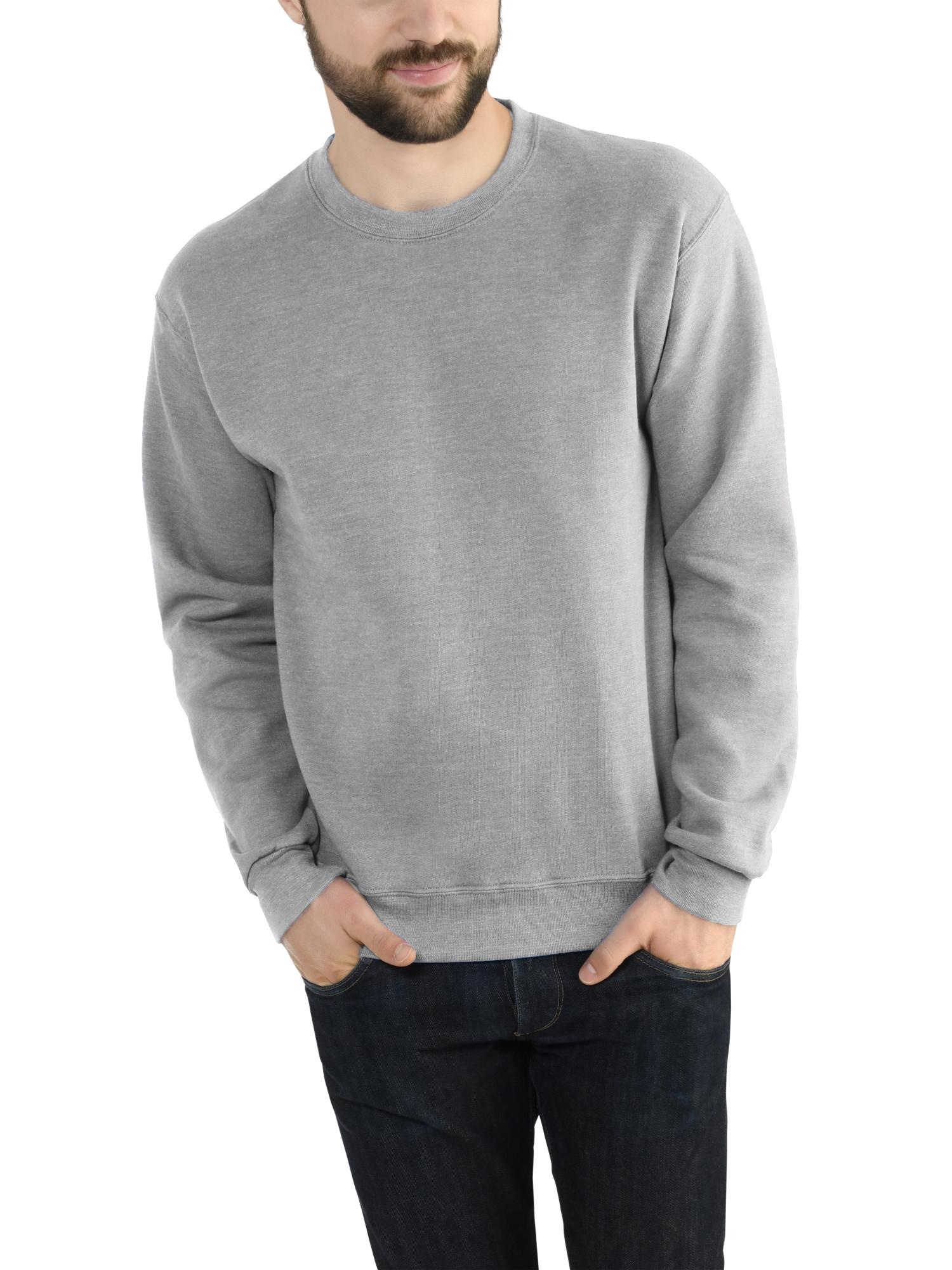 Herren Pullover Rundhals Sweatshirt Sweater Fruit of the Loom 2er Pack