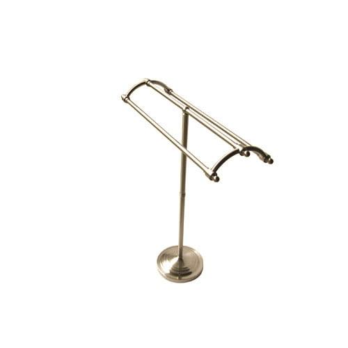 Elements of Design Vintage Pedestal Round Plate Free Standing Towel Rack by Elements of Design