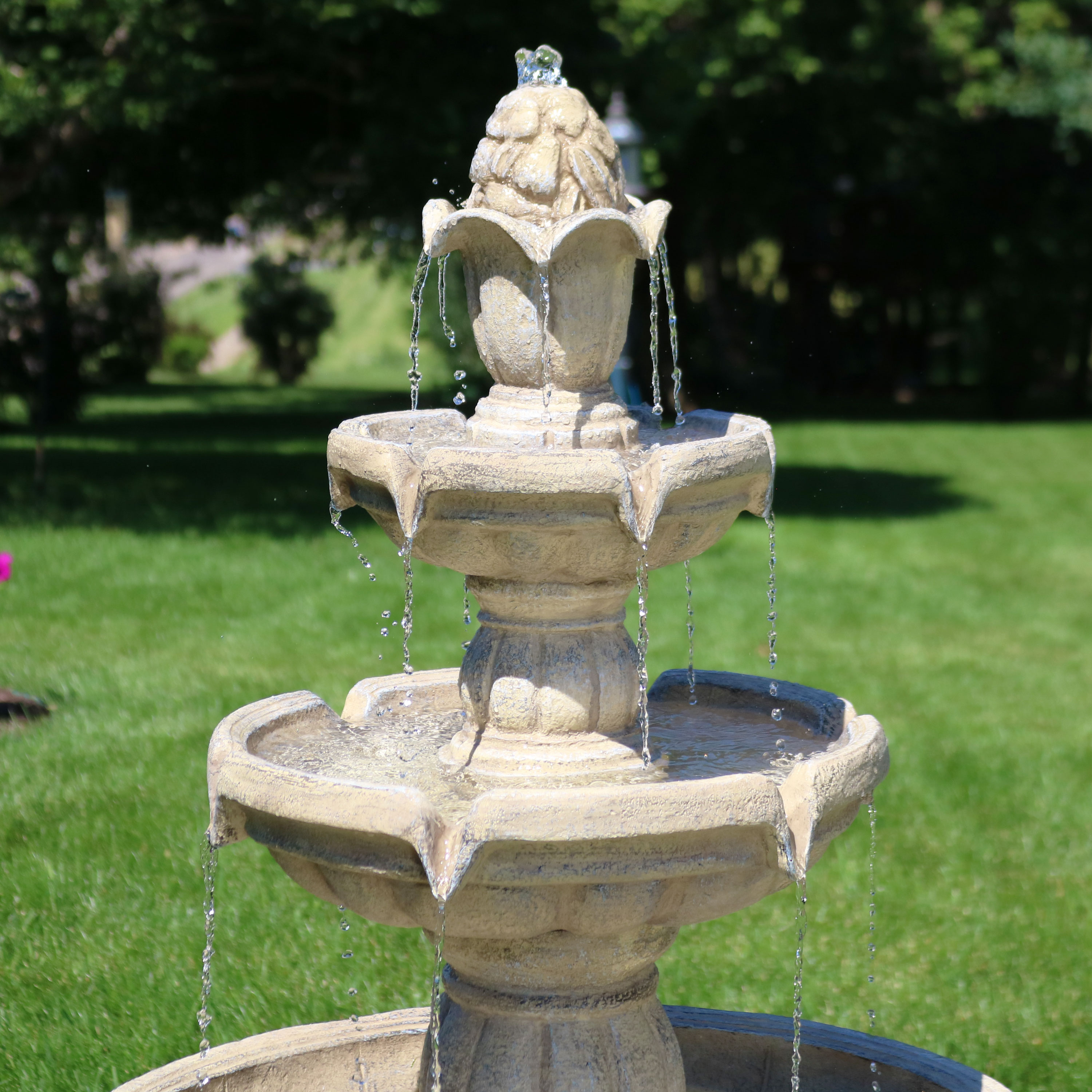 Outdoor Garden Patio Water Fountain
