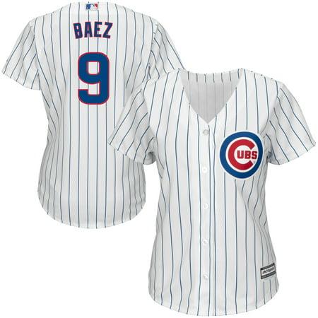 Javier Baez Chicago Cubs Majestic Women