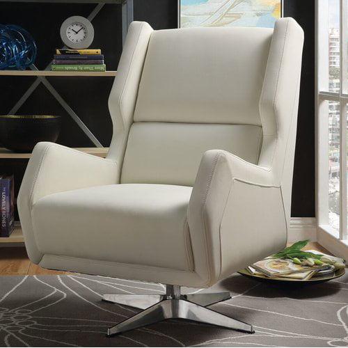 Orren Ellis Winningham Swivel Wingback Chair