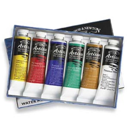 Winsor & Newton 1590251 37ml Artisan Water Mixable Oil Color Paint Set - image 1 of 1