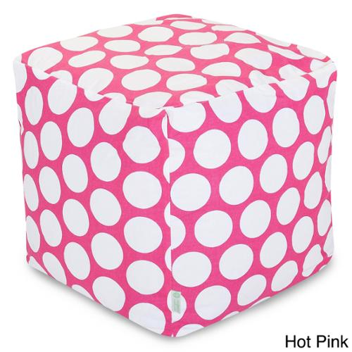 Large Polka Dot Small Cube Hot Pink Large Polka Dot Small Cube