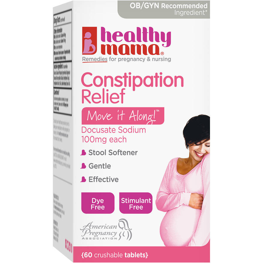 Healthy Mama Move it Along! Constipation Relief, 60 count