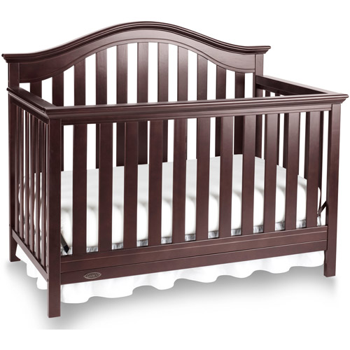 Graco Bryson 4 in 1 Convertible Crib Espresso