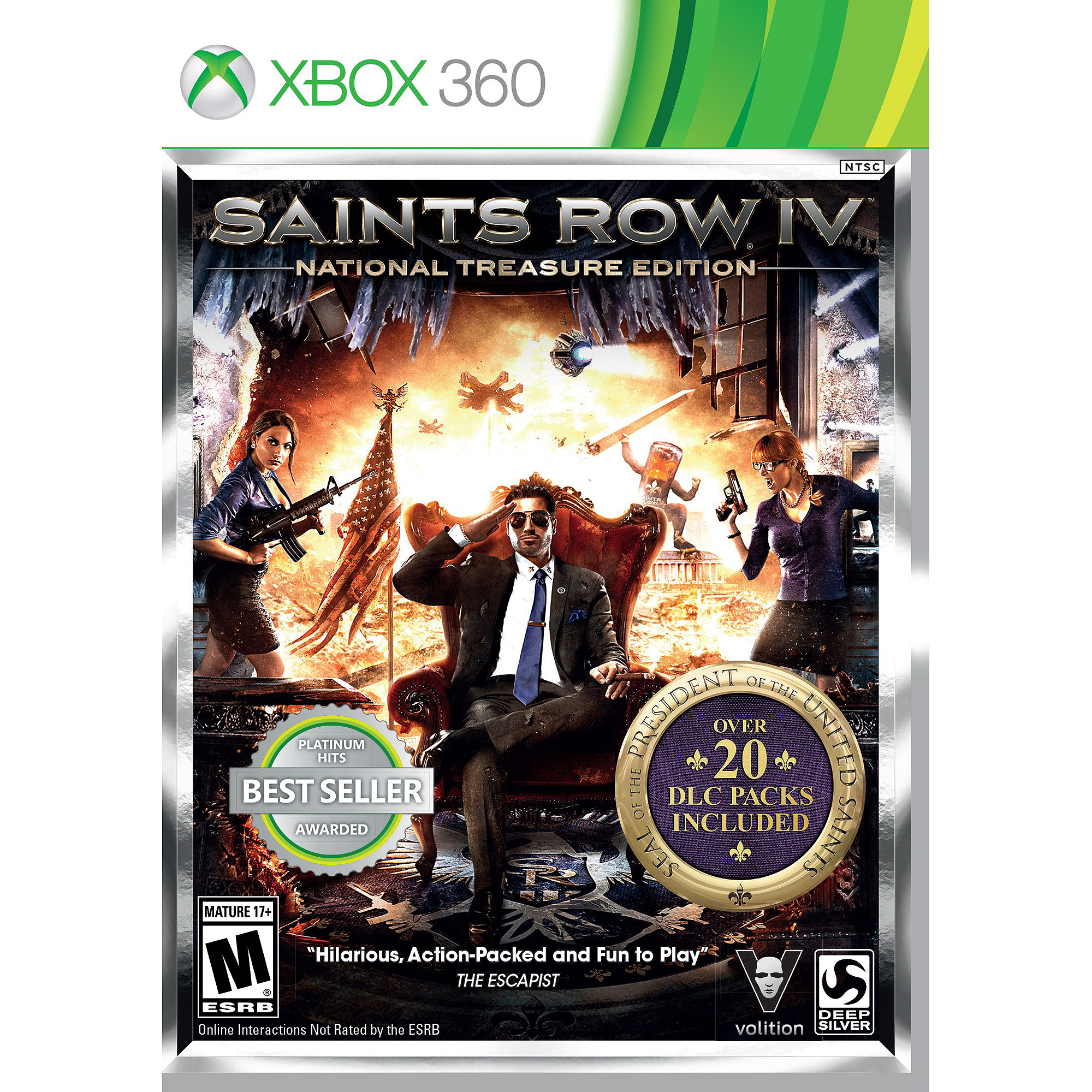 Saints Row IV: National Treasure Edition (Xbox 360)
