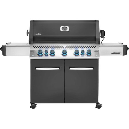 Napoleon Prestige 665 Propane Gas Grill With Infrared Rear Burner And Infrared Side -