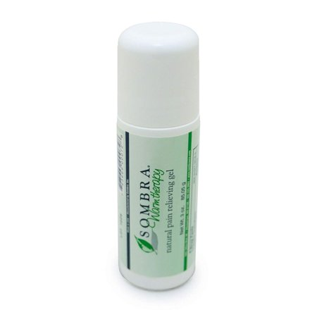 Warm Therapy Natural Pain Relieving Gel Roll On, 3-Ounce Sombra - 3 Ounce (Pack of 1)