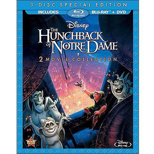 The Hunchback Of Notre Dame / Hunchback Of Notre Dame II (Blu-ray   DVD) (Anamorphic Widescreen)