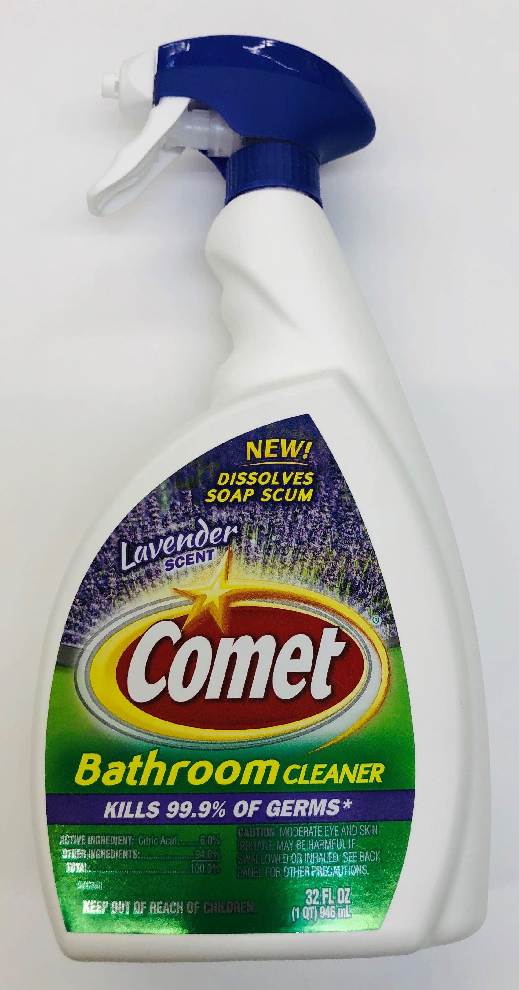 Comet Lavender Bathroom Cleaner 32oz Walmart Com Walmart Com
