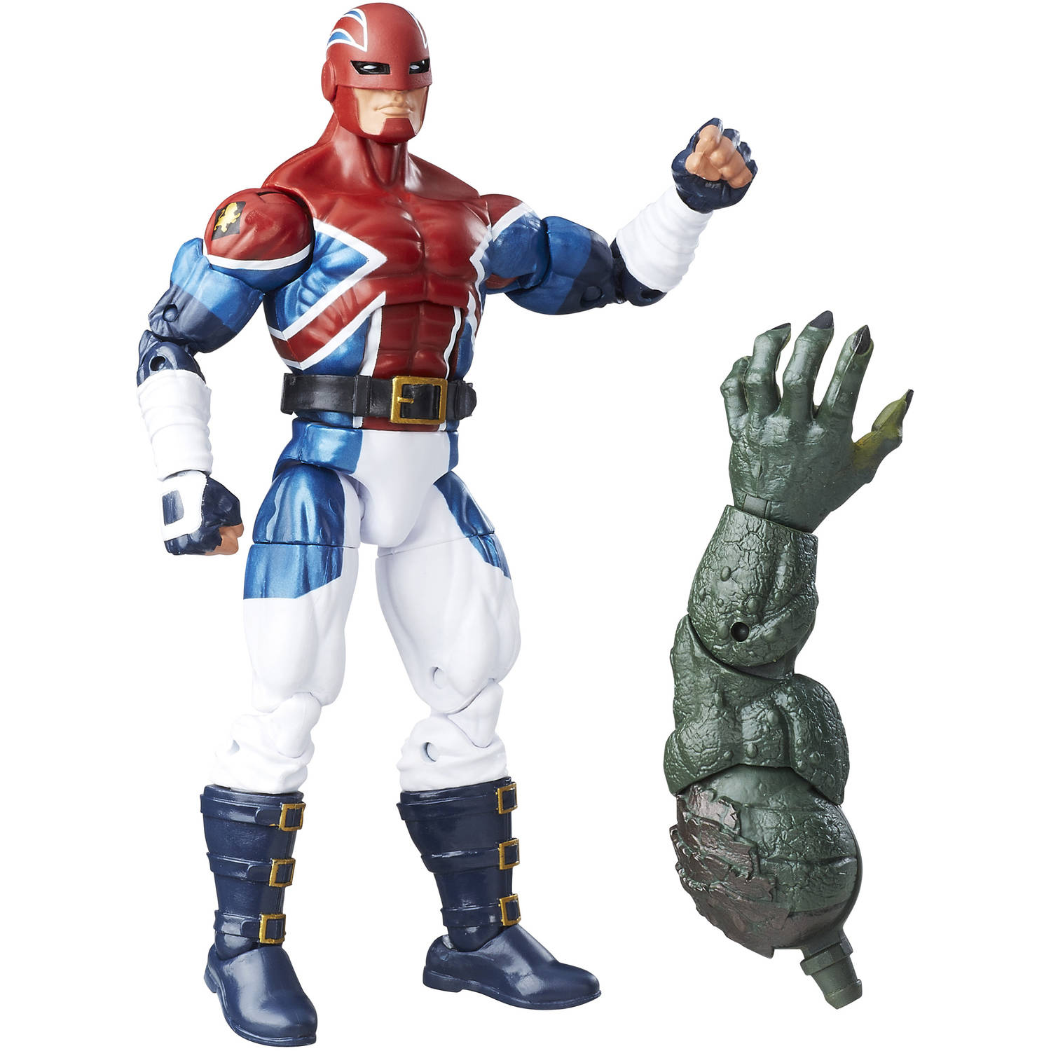 "Marvel 6"" Legends Series Energized Emissaries: Captain Britain"