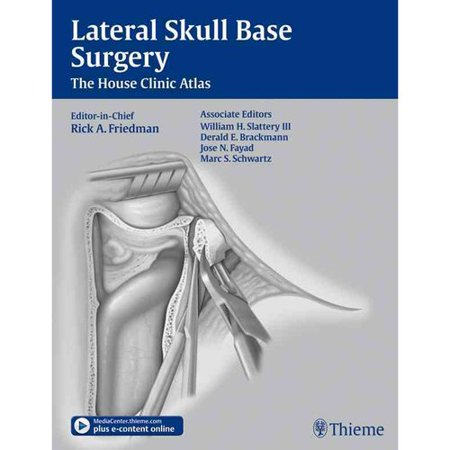 Lateral Skull Base A Surgical Text Atlas Walmart