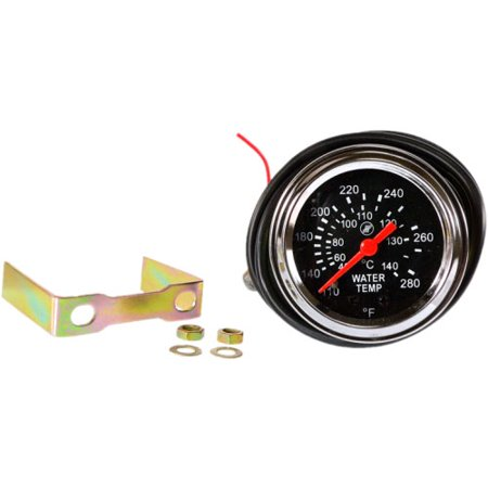 DB Electrical SSW0003 Water Temperature Gauge - Lighted Universal for Tractor, Auto, Truck, Ford (Ford Electrical Parts)