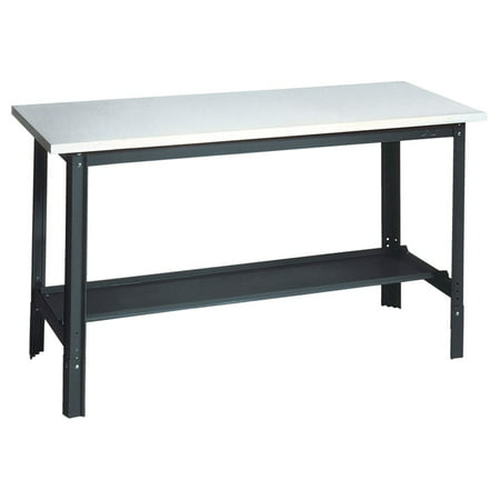 Edsal Adjustable Laminate Top Workbench - Edsal Mobile Service Bench