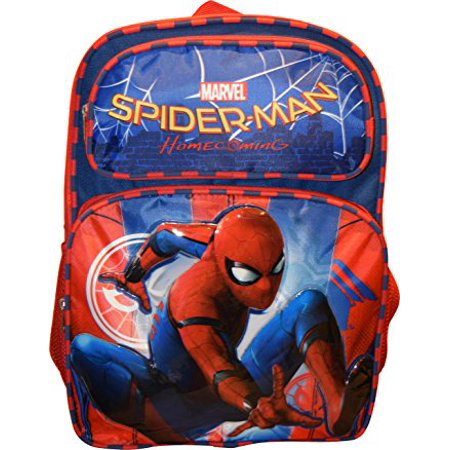 Backpack - - Spiderman Homecoming Movie 16 School Bag 694906 (Spider Man Bag)