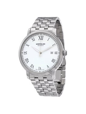 Montblanc Tradition Automatic White Dial Men's Watch 112610