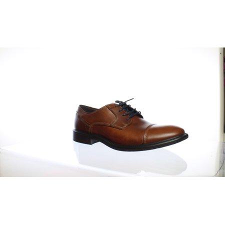 97ed94c03e New ECCO Mens Knoxville Cognac Light Oxford Dress Shoe EUR 43