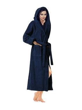 63ec5e9b1d Product Image Women s Toweling Robe 100% Terry Cotton Hooded Bathrobe