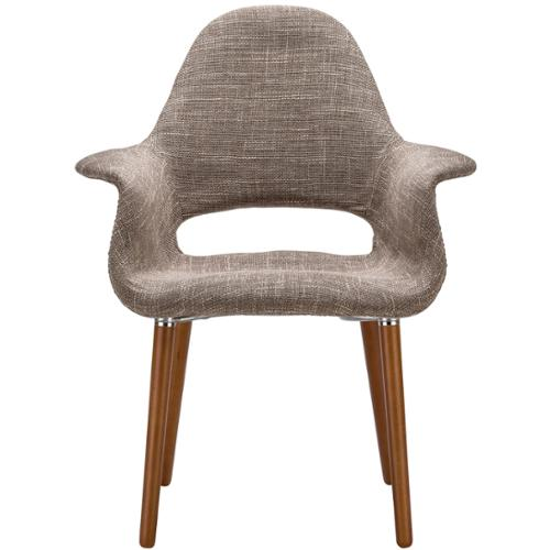 Poly and Bark Barclay Organic Style Taupe Dining Armchair by Overstock