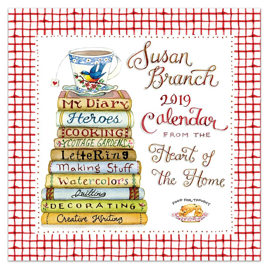 2019 Susan Branch Heart Of The Home 12 X 12 January 2019 December