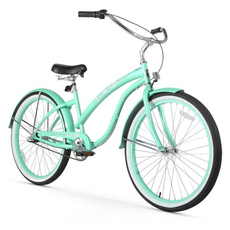 26 firmstrong bella classic three speed women 39 s beach cruiser bicycle mint green. Black Bedroom Furniture Sets. Home Design Ideas
