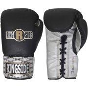 Ringside Ultimate Pro Fight Gloves 12 oz Black / Silver
