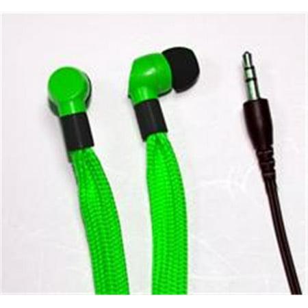 QFX QUANTUM H107GRN H107GRN- SHOELACE EARPHONES