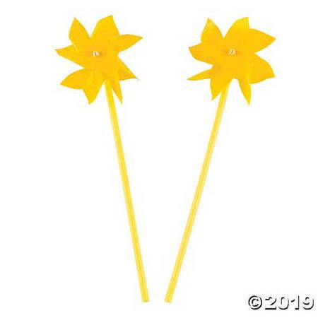 Yellow Pinwheels`