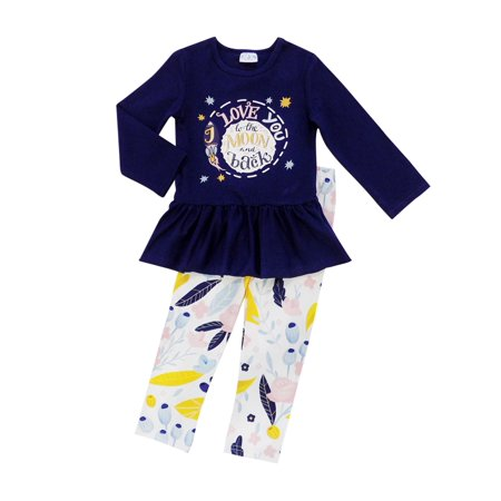 f9a2a074b Toddler Girls 3 Piece or 2 Piece Valentine's Day Holiday Outfit So Sydney