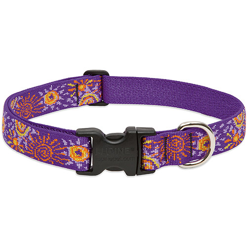 """Lupine Collars and Leads 62152 Sunny Days 1"""" x 12-20"""" Collar"""