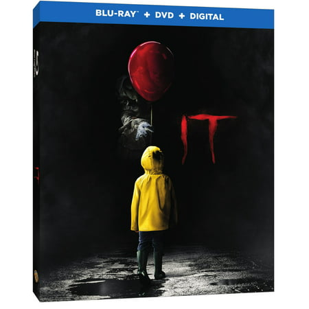 It (2017) (Blu-ray + DVD + Digital) for $<!---->