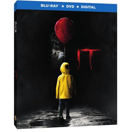 It (2017) (Blu-ray + DVD + Digital) - Halloween Movie Specials 2017