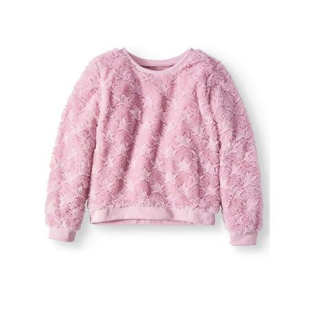 - Plush Minky Sweatshirt (Big Girls)