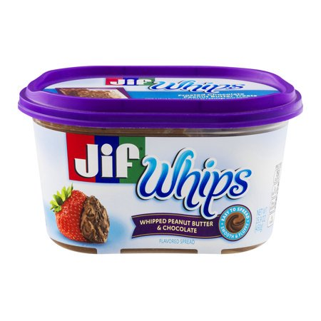 Chocolate Whip Cream - (3 Pack) Jif Whips Whipped Peanut Butter & Chocolate Spread, 15.9-Ounce