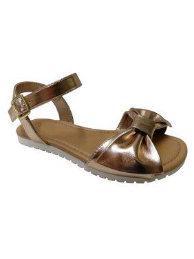 798db0f7fdfd Product Image Wonder Nation Girls  Bow Strap Sandal