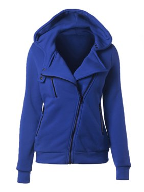 f477e4dd Product Image Plus Size Women Zip Up Hooded Coat Long Sleeve Tops Jacket  Hoodies Sweatshirt Oversized Warm Loose
