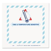 LabelMaster Shipping and Handling Self-Adhesive Label, 5 1/2 x 5, TIME/TEMPERATURE, 500/Roll -LMTL450
