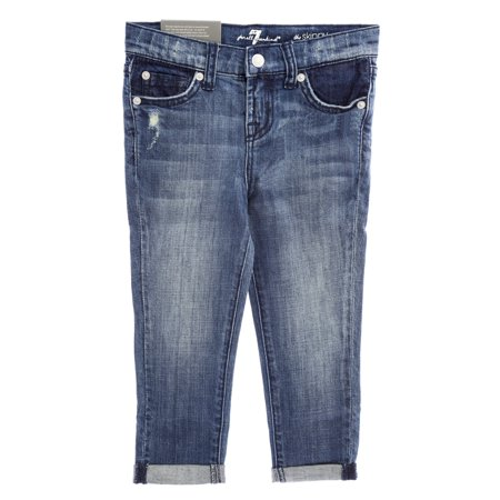 7 for All Mankind Girls The Skinny Crop & Roll (7 Cropped)