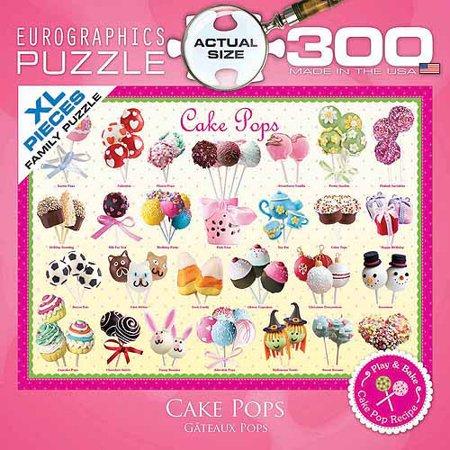 EuroGraphics Cake Pops 300 Piece Puzzle Small Box