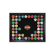 Harley-Davidson Bar & Shield Chip Collector's Frame, Holds 76 Poker Chips 6976, Harley Davidson