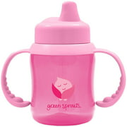 Green Sprouts Non-Spill Sippy Cup, Pink, 1 ct