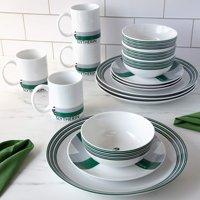 Harry Potter 'Slytherin' 16pc Dinnerware Set