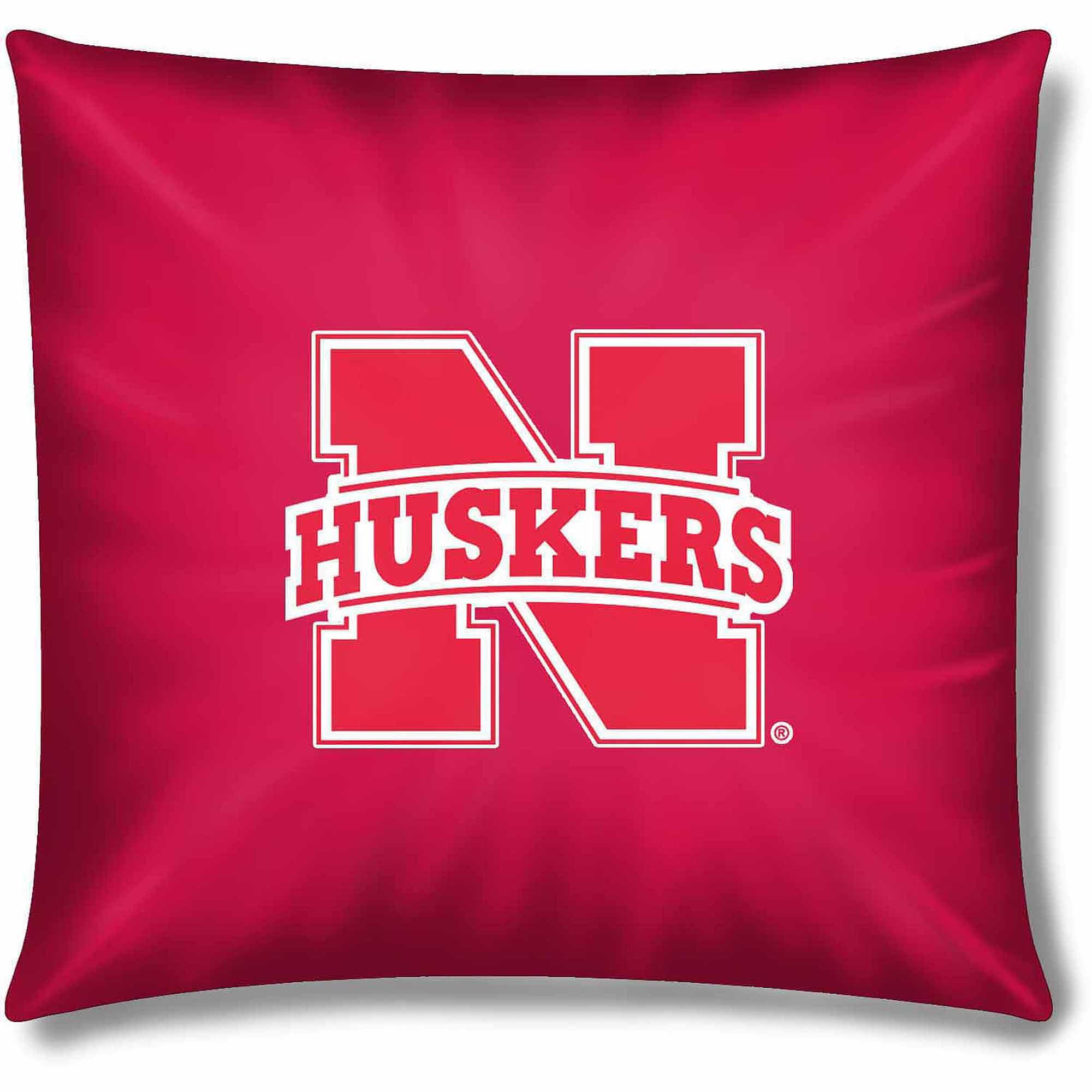 """NCAA Nebraska Huskers Official 15"""" Duck Toss Pillow"""