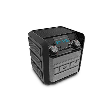 - ION Audio Tailgater Express | Compact Water-Resistant Wireless Speaker System with AM/FM Radio & USB Charge Port (20W)